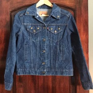 1980's Vintage Levi's blue denim jacket